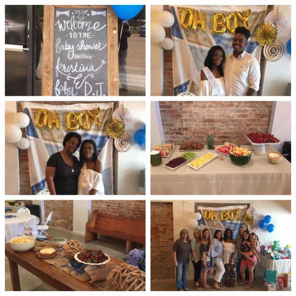 Have a little one on the way? Then make Downtown Charm your first choice to host your baby shower!